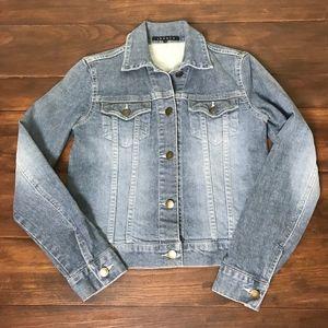 Theory small denim jacket